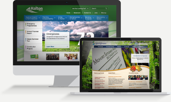 Custom Municipal Web Design